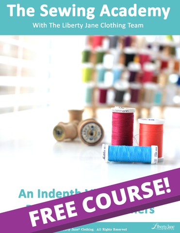 Sewing Academy - Beginner Level Basic Sewing Class