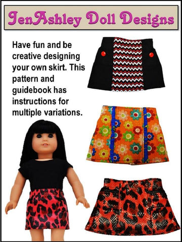 "Design Your Own Skirt 18"" Doll Clothes"
