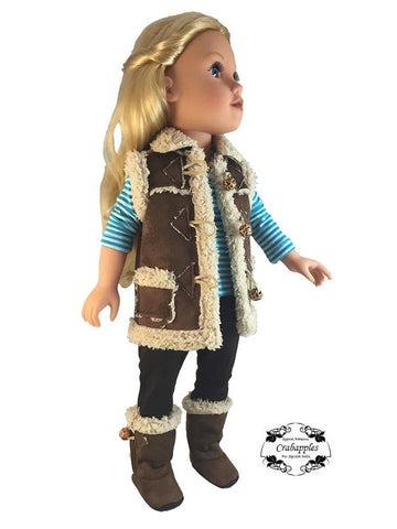 Cozy Boots Pattern for Journey Girls and Kidz N Cats Dolls