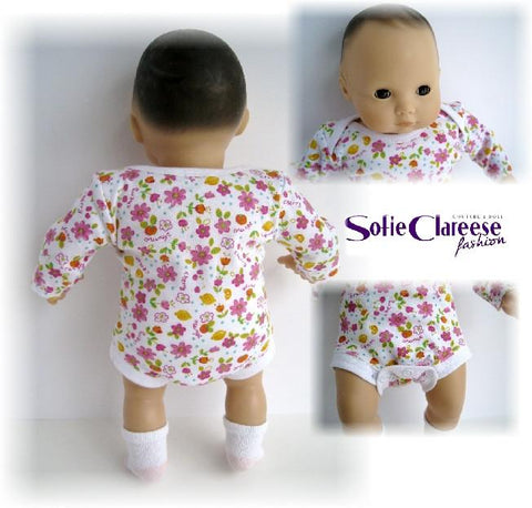 "Sofie's Baby Bodysuit 15"" Doll Clothes"