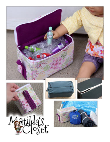 "Soft Sided Cooler 18"" Doll Accessories"