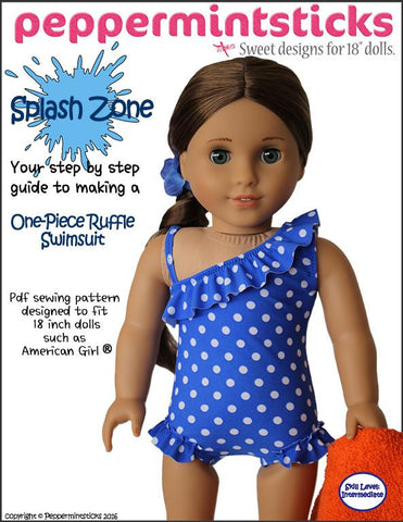 "Splash Zone 18"" Doll Clothes"