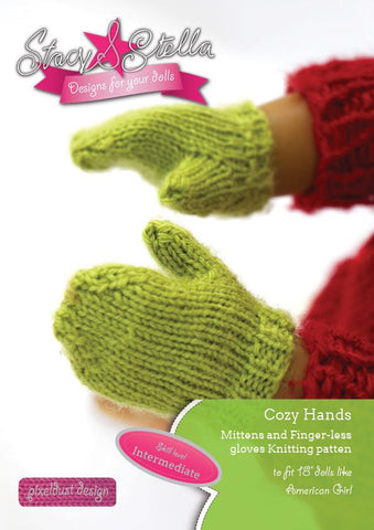 "Cozy Hands 18"" Doll Accessories"