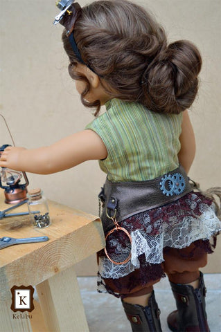 "Steampunk Inventor Bundle 18"" Doll Clothes"
