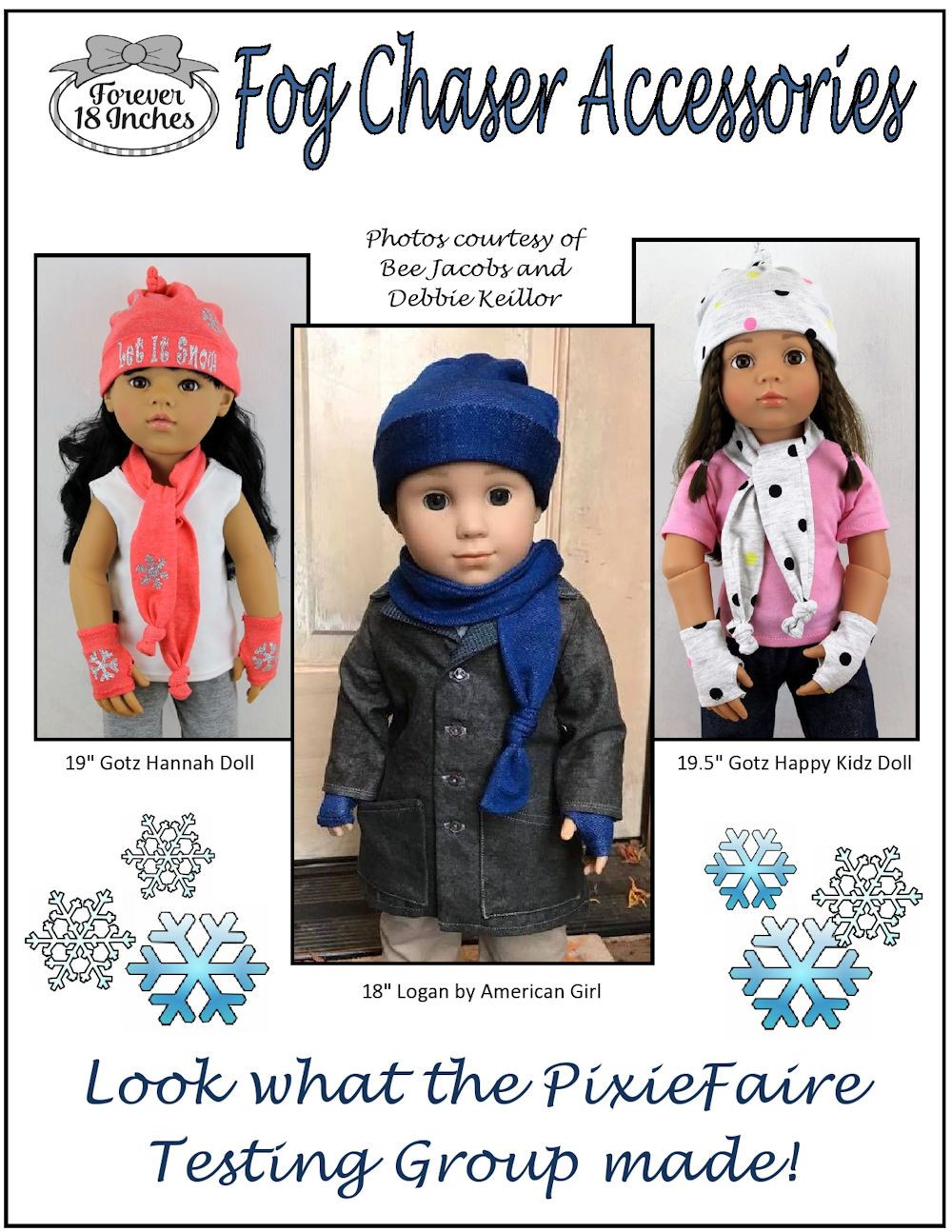 Fog Chaser Accessories Doll Clothes Pattern 18 Inch