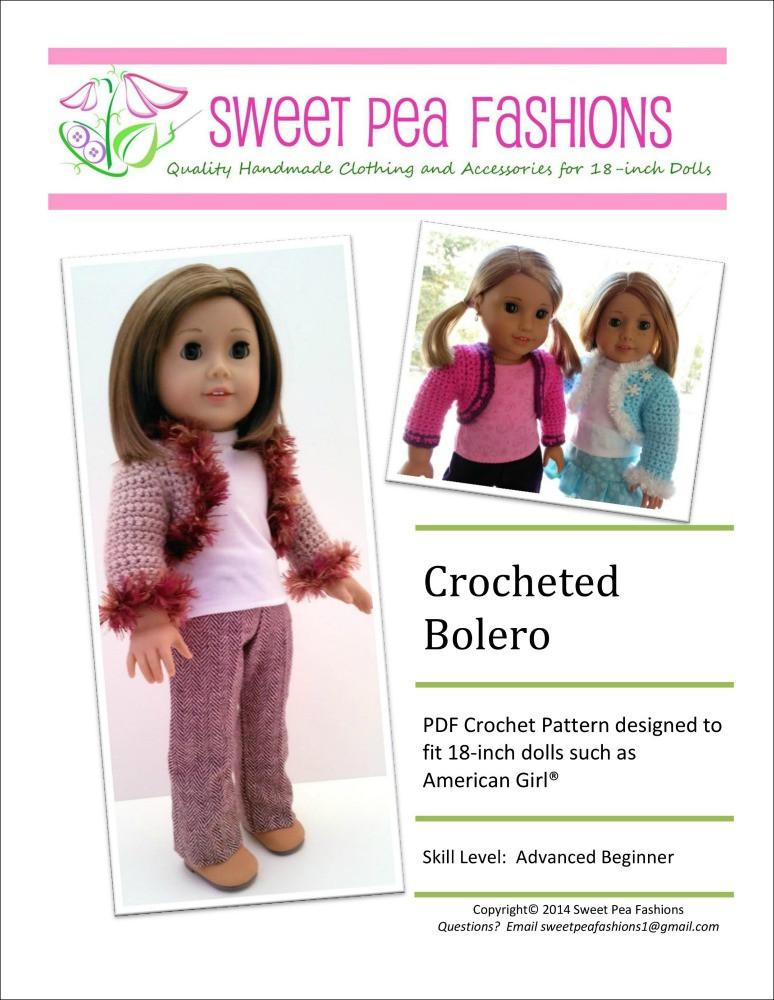3 Piece Doll Outfit Sweet Pea Clothes Fits 18 Inch American Girl Doll