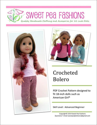 Crocheted Bolero Crochet Pattern