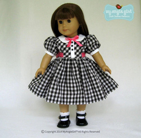 "My Angie Girl 18 Inch Modern Sweet Essentials Dress 18"" Doll Clothes Pixie Faire"