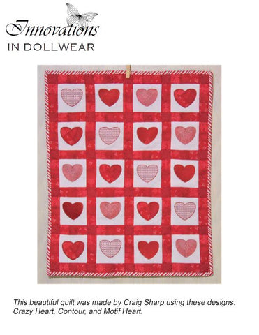 Sweetheart Quilt Machine Embroidery Design
