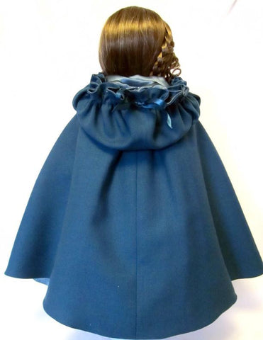 "Irish Kinsale Cloak 18"" Doll Clothes"
