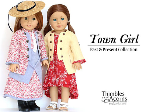 "Town Girl 18"" Doll Clothes"