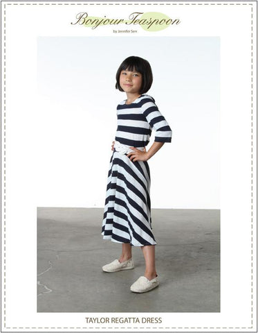 Taylor Regatta Dress Pattern for Girls
