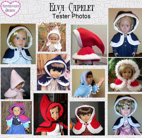 "Elva Capelet 18"" Doll Clothes"
