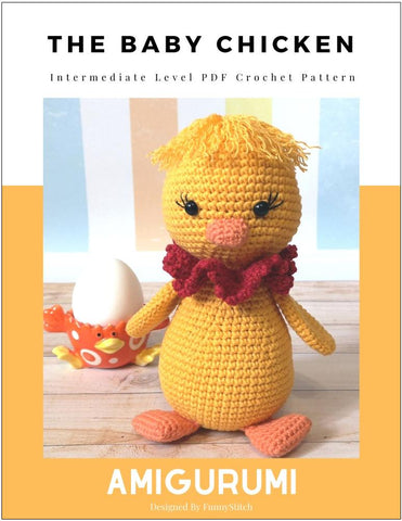 The Baby Chicken Amigurumi Crochet Pattern
