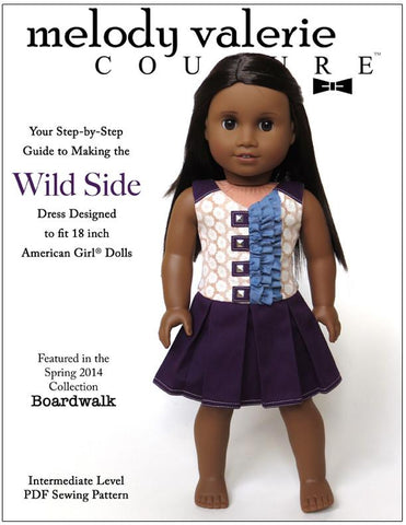 "Wild Side Dress 18"" Doll Clothes"