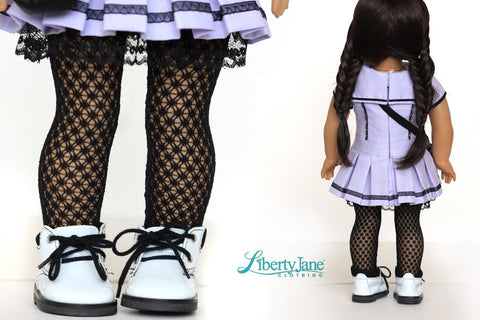 "Cosplay Day Dress 18"" Doll Clothes Pattern"