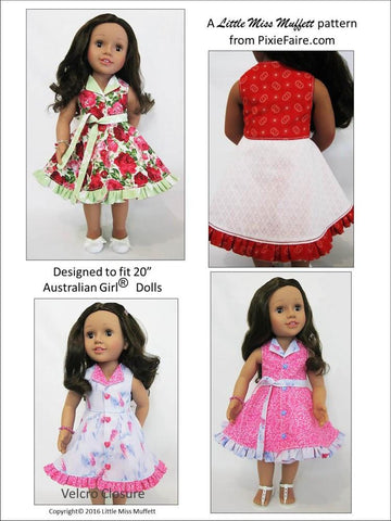 Topsy Turvy Pattern for Australian Girl Dolls