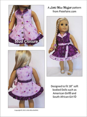 "Topsy Turvy 18"" Doll Clothes"
