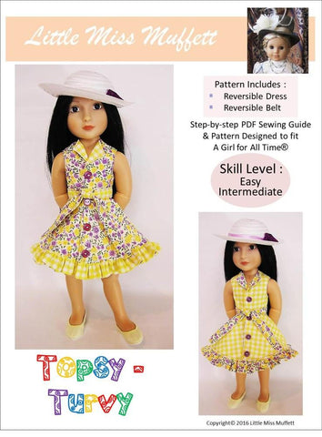 Topsy Turvy Pattern for AGAT Dolls