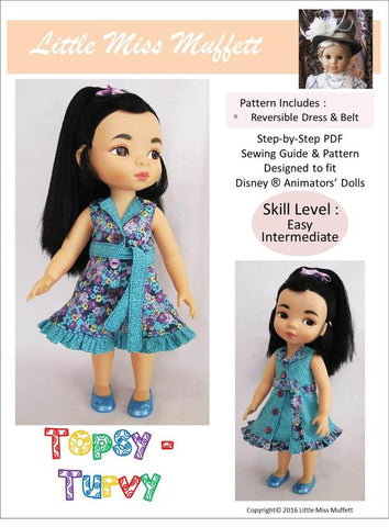 Topsy Turvy Pattern for Disney Animators' Dolls