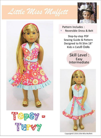 Topsy Turvy Pattern for Kidz N Cats Dolls