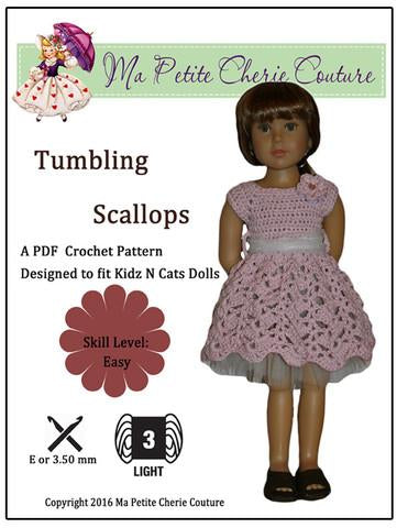 Tumbling Scallops for Kidz N Cats Dolls