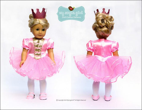 "Tutu Cute Story Book Dress-Up Costume Dress 18"" Doll Clothes"