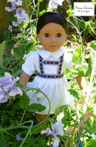 "Tyrol 18"" Doll Clothes Pattern"