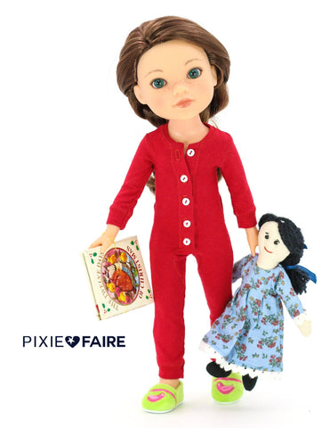 "Charlotte 18"" Cloth Doll Pattern"