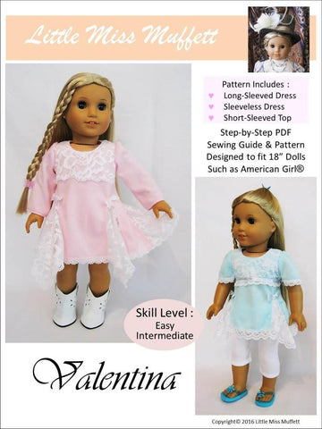 "Valentina 18"" Doll Clothes"