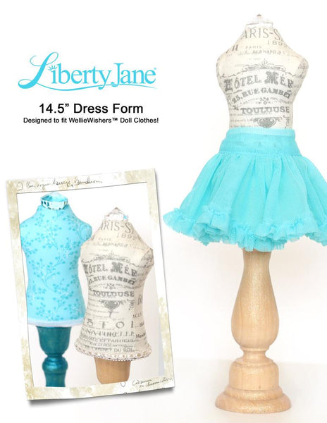 Liberty Jane Dress Form Doll Accessory Pattern For ...