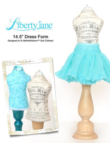 Dress Form 14.5 Inch Doll Clothes Pattern