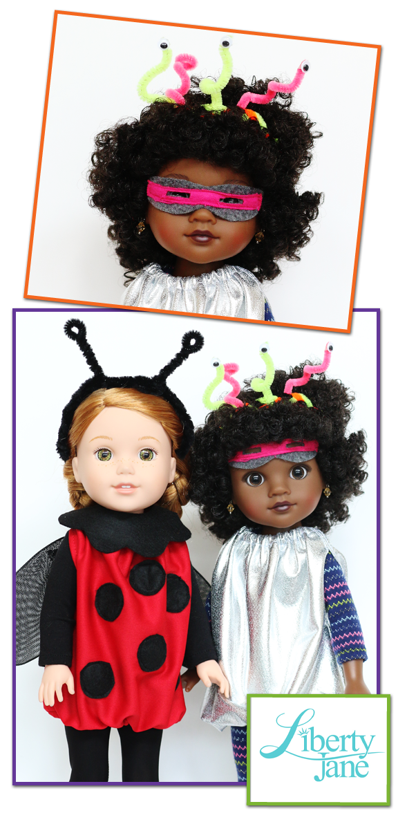Halloween Costumes 13 14 5 Doll Clothes Pattern Pixie Faire