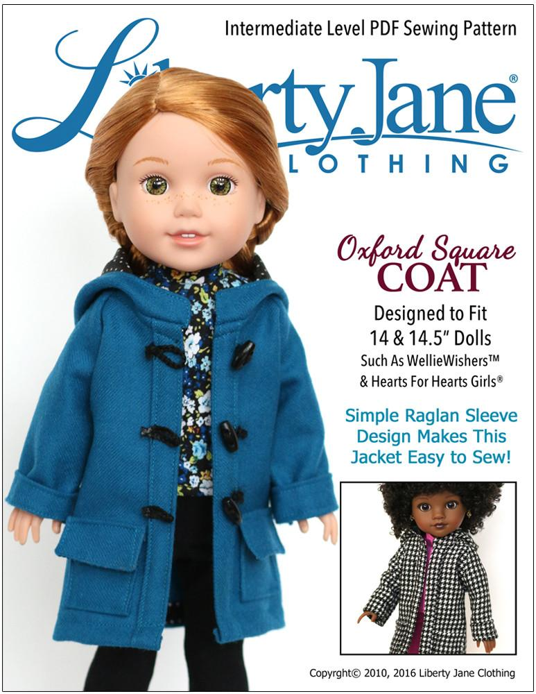 Liberty Jane Sewing Patterns Designed To Fit 14.5\