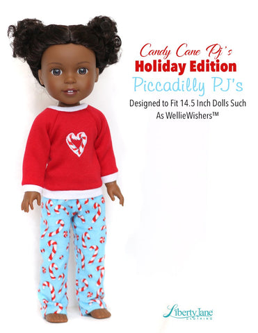 Piccadilly PJs 14.5 Inch Doll Clothes Pattern