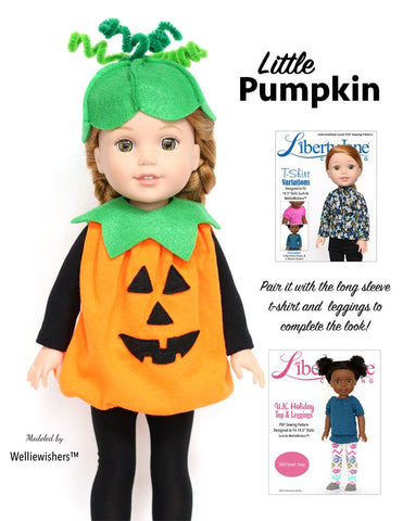 "Halloween Costumes 13"" - 14.5"" Doll Clothes Pattern"