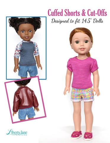 Jeans Bundle 14.5 Inch Doll Clothes Pattern