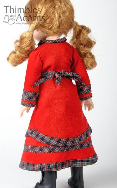 Thimbles And Acorns Carrie Doll Clothes Pattern 14 5 Inch