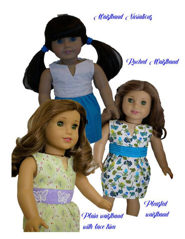 "Tulippe Dress 18"" Doll Accessories"