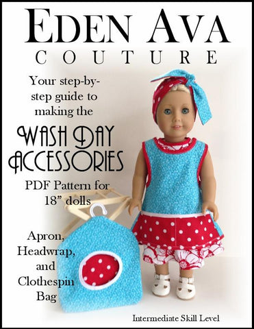 "Washday Accessories 18"" Doll Accessories"