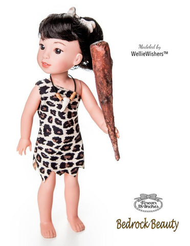 "Bedrock Beauty 14.5"" Doll Clothes Pattern"