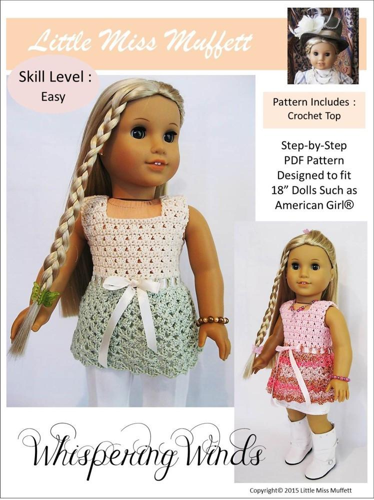 How to crochet a lace animal / doll dress - Wooly Wonders Crochet ... | 1000x748