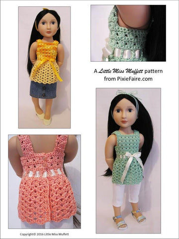 Whispering Winds Crochet Pattern for AGAT Dolls
