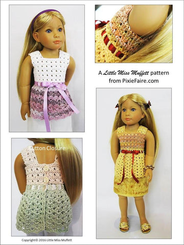 Whispering Winds Crochet Pattern for Kidz N Cats Dolls