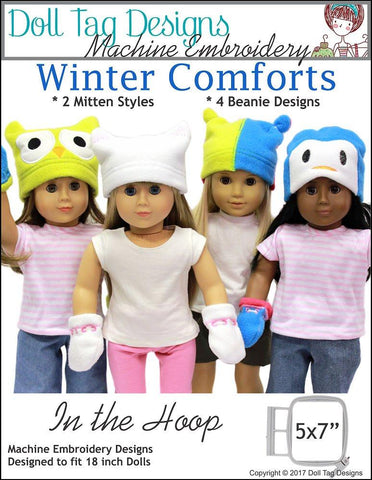 Winter Comforts Machine Embroidery Designs