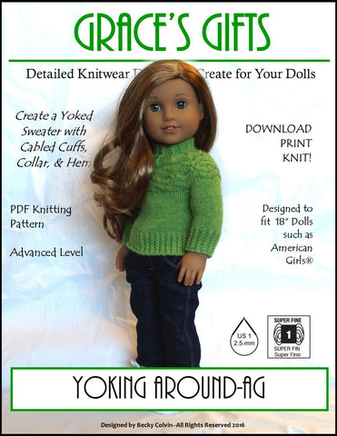 Yoking Around Knitting Pattern