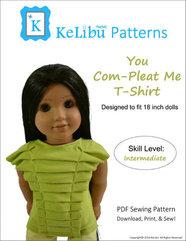 "You Com-Pleat Me T-Shirt 18"" Doll Clothes"