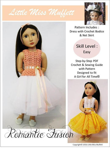 Romantic Fusion Crochet Pattern for AGAT Dolls
