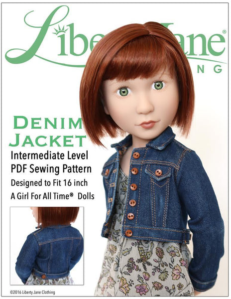 Pixie Faire Liberty Jane Piccadilly Peacoat Doll Clothes