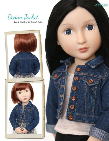 Denim Jacket Pattern for AGAT Dolls